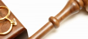 Divorce and family law attorneys - gavel